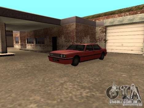 Vincent padrão para GTA San Andreas vista traseira