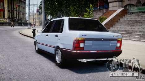 Fiat Duna 1.6 SCL [Beta] para GTA 4 traseira esquerda vista