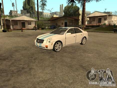 Cadillac CTS para GTA San Andreas vista superior