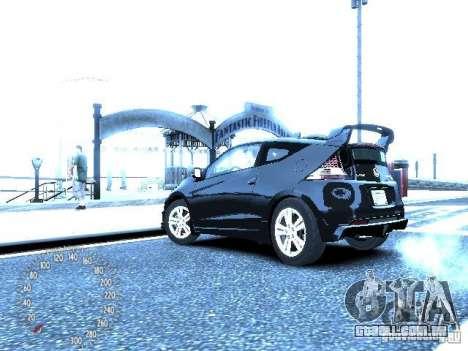 Honda Mugen CR-Z para GTA 4 traseira esquerda vista
