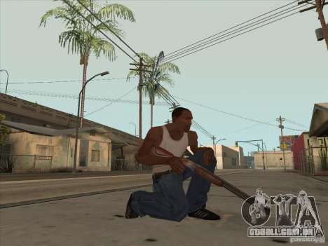 Novo pacote de armas nacionais para GTA San Andreas terceira tela