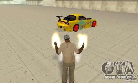 Capacidade sobrenatural de CJ-eu para GTA San Andreas