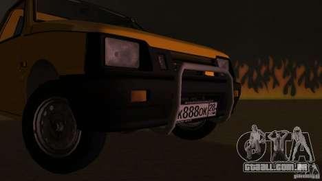 Seaz Pickup para GTA Vice City vista interior