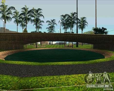 O novo parque em Los Santos para GTA San Andreas por diante tela