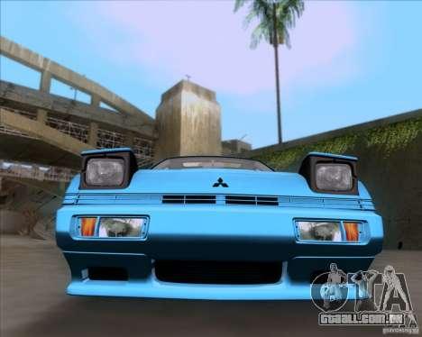 Mitsubishi Starion para GTA San Andreas vista traseira