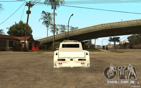 IZH 27151 para GTA San Andreas traseira esquerda vista