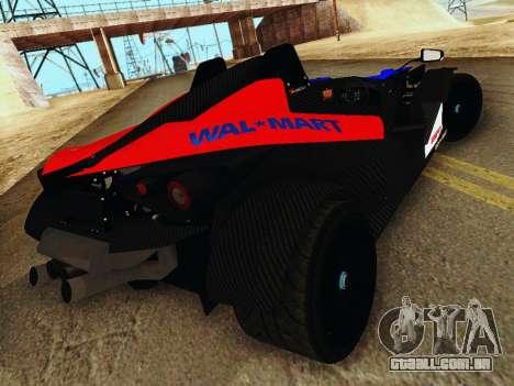 KTM X-Bow 2013 para GTA San Andreas