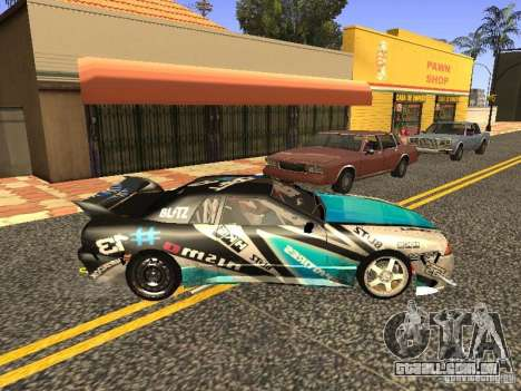 Elegy Drift Korch v2.1 para GTA San Andreas vista direita