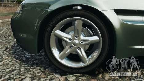 Daewoo Bucrane Concept 1995 para GTA 4 vista inferior