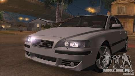 Volvo S60R para GTA San Andreas interior