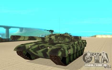 Tanque T-72 para GTA San Andreas