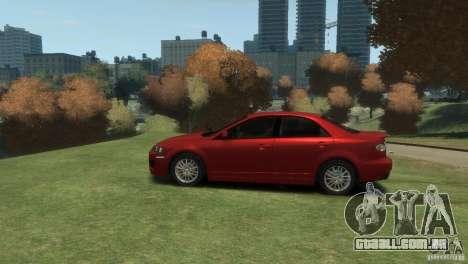 Mazda 6 MPS para GTA 4 traseira esquerda vista