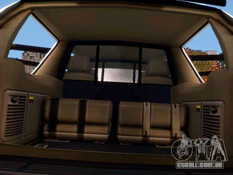 Chevrolet Tahoe Homeland Security para GTA 4 vista lateral
