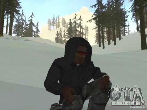 Moletom com capuz para GTA San Andreas terceira tela