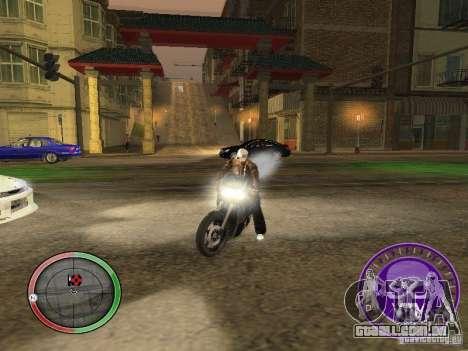 Skul Speedometer para GTA San Andreas segunda tela