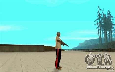 Calças adidas para GTA San Andreas quinto tela