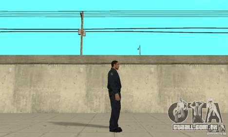 Um policial do GTA 4 para GTA San Andreas segunda tela