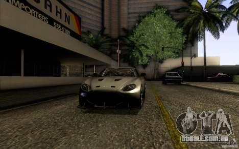 Aston Martin Zagato V12 V1.0 para GTA San Andreas vista direita