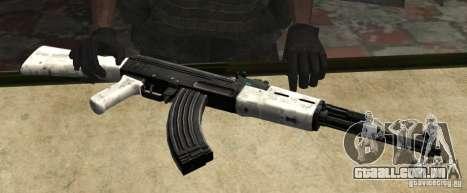 AK47 de neve (neve Ak47) para GTA San Andreas