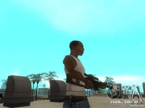 Rifle VSS Vintorez para GTA San Andreas por diante tela