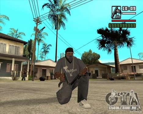 Millenias Weapon Pack para GTA San Andreas nono tela