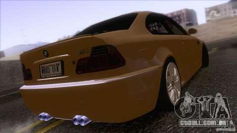 BMW M3 E48 para GTA San Andreas vista direita