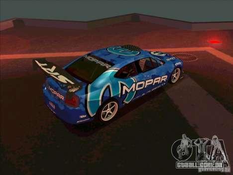 Mopar Dodge Charger para GTA San Andreas vista direita