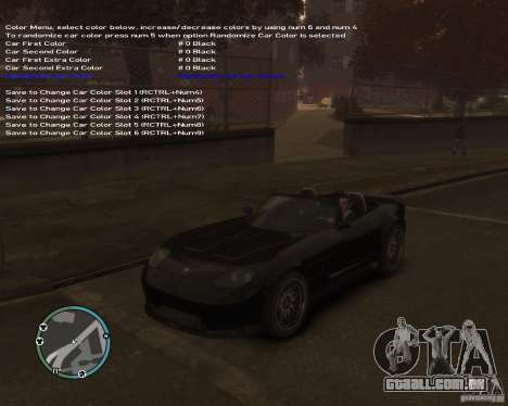 Simple Native Trainer v6.4 para GTA 4 sétima tela