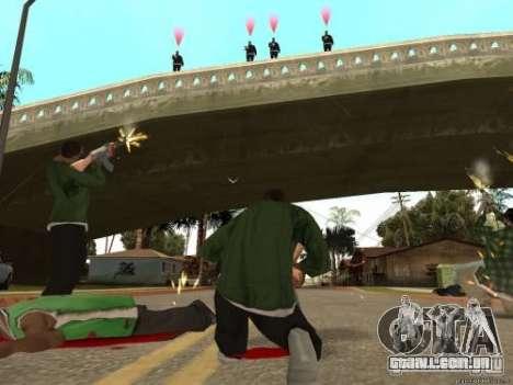 Duplo V 4.0 para GTA San Andreas segunda tela