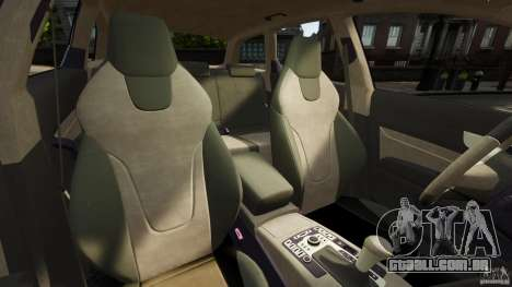 Audi A6 Avant Stanced 2012 v2.0 para GTA 4 vista interior