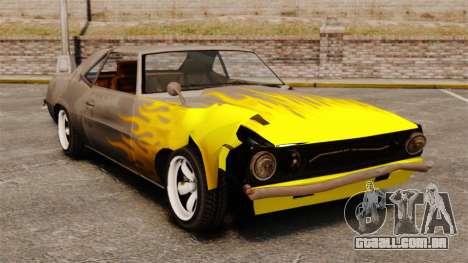 Nova coloração enferrujada Vigero e Sabre para GTA 4