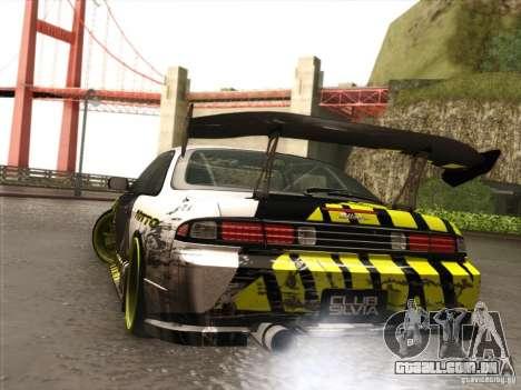 Nissan 200SX S14A para GTA San Andreas vista traseira