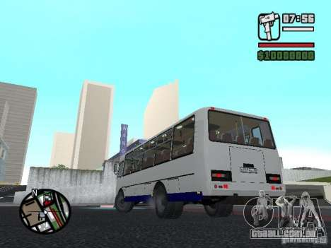 SULCO 4234 v1 para GTA San Andreas vista interior