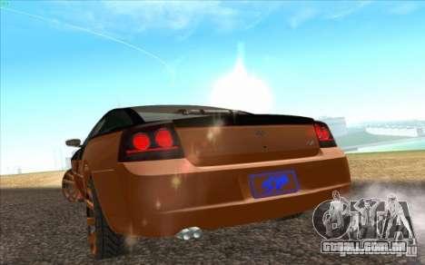 Dodge Charger SRT 8 para GTA San Andreas vista traseira