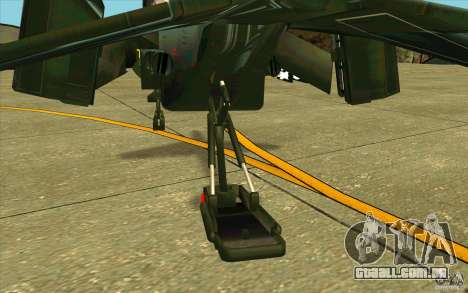 Aliens vs. Predator Marine Drobship para vista lateral GTA San Andreas