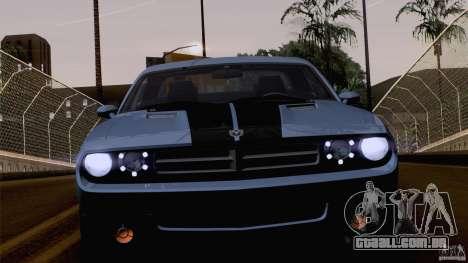 Dodge Challenger SRT8 para as rodas de GTA San Andreas