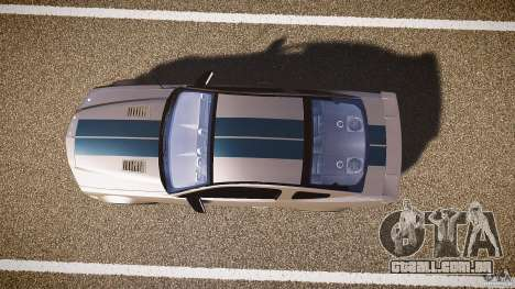 Shelby GT500kr para GTA 4 vista de volta