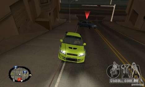 Corrida de rua para GTA San Andreas décima primeira imagem de tela