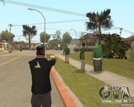 Mark and Execute para GTA San Andreas segunda tela