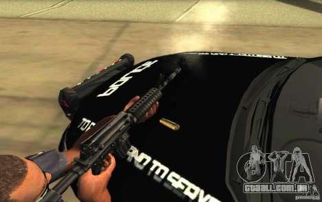Ford Taurus 2011 LAPD Police para o motor de GTA San Andreas