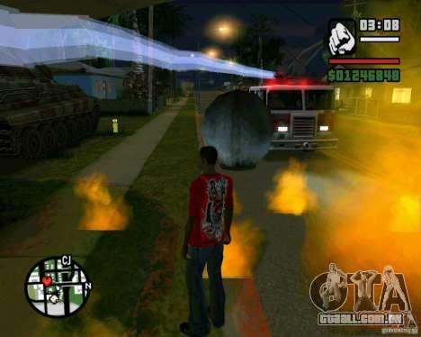 Wrecking ball para GTA San Andreas segunda tela
