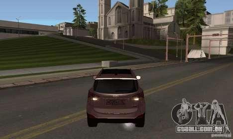 Hyundai ix35 para GTA San Andreas esquerda vista