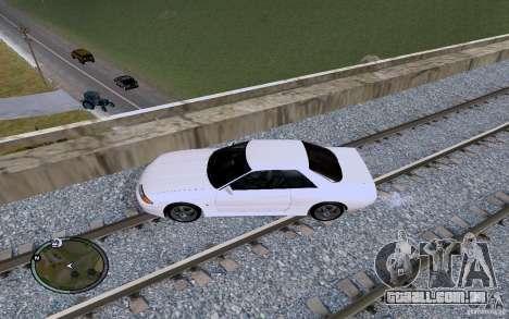 Rails russos para GTA San Andreas twelth tela
