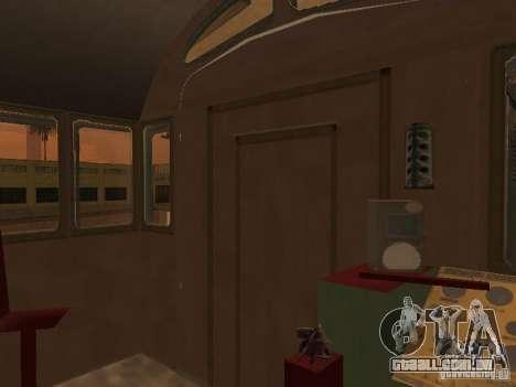 0786 Tem1 para GTA San Andreas vista traseira