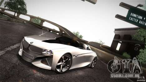 BMW Vision Connected Drive Concept para GTA San Andreas