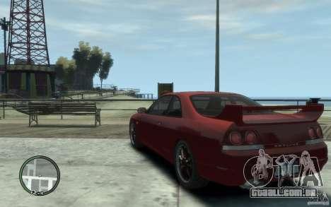 Nissan Skyline GT-R V-Spec 1998 para GTA 4 traseira esquerda vista