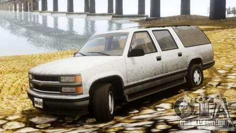 Chevrolet Suburban GMT400 v1.1 para GTA 4 esquerda vista