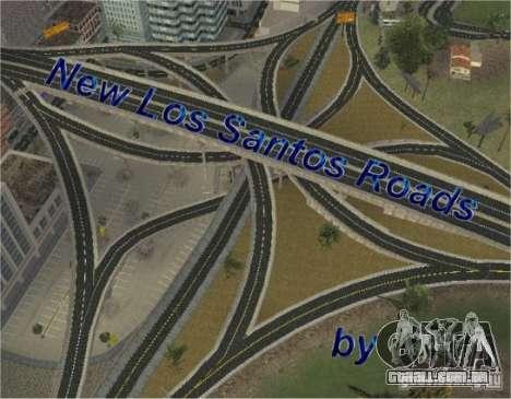 Novas estradas de Los Santos para GTA San Andreas