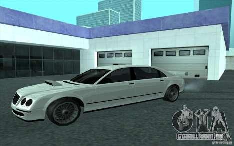 Cognoscneti do GTA 4 para GTA San Andreas vista traseira