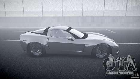 Chevrolet Corvette Z06 1.1 para GTA 4 vista interior